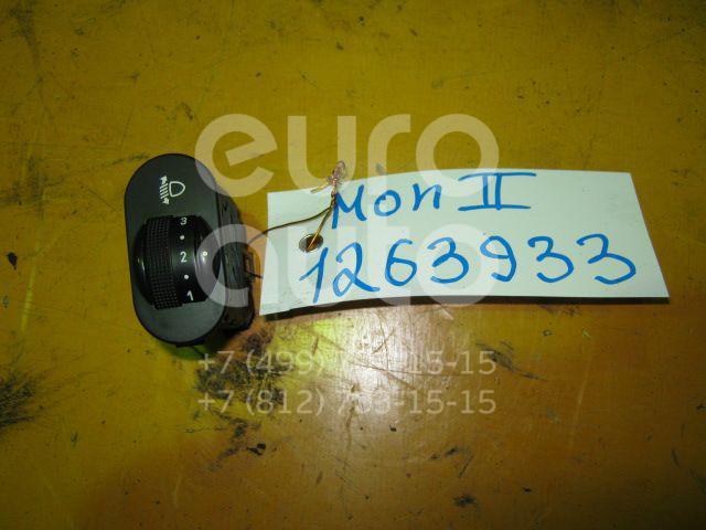 Кнопка корректора фар для Ford Mondeo II 1996-2000;Fiesta 1995-2000;KA 1996-2008;Puma 1997-2002;Cougar 1998-2001 - Фото №1