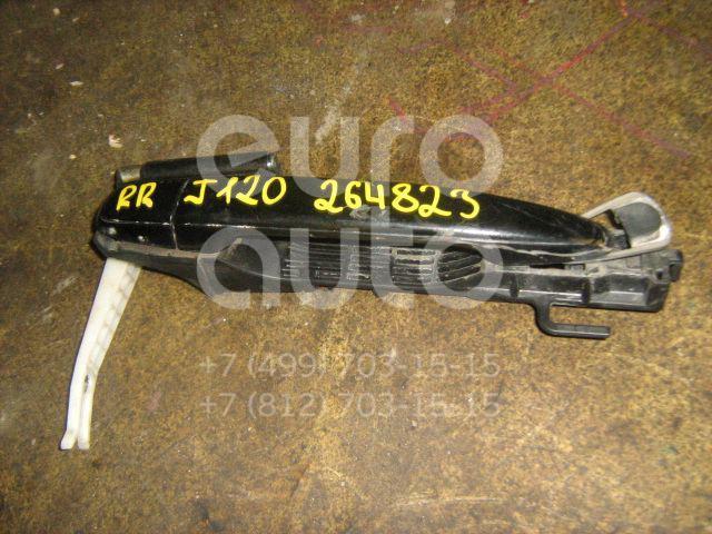 Ручка двери задней наружная правая для Toyota Land Cruiser (120)-Prado 2002-2009 - Фото №1