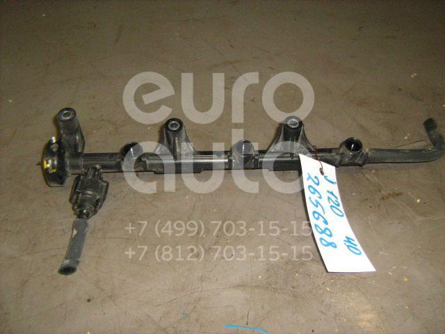 Рейка топливная (рампа) для Toyota Land Cruiser (120)-Prado 2002-2009 - Фото №1