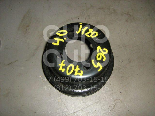 Шкив водяного насоса (помпы) для Toyota Land Cruiser (120)-Prado 2002-2009;4 Runner 2002-2009 - Фото №1
