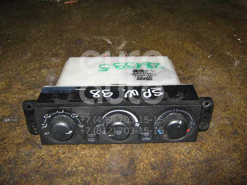 Блок управления отопителем для Mitsubishi Space Wagon (N8,N9) 1998-2004 - Фото №1