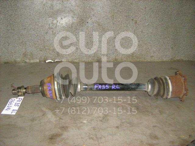 Полуось задняя левая для Infiniti FX (S50) 2003-2007 - Фото №1