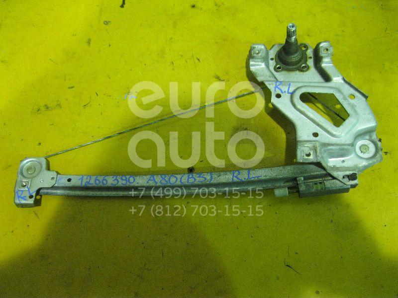 Стеклоподъемник механ. задний левый для Audi 80/90 [B3] 1986-1991;80/90 [B4] 1991-1994 - Фото №1