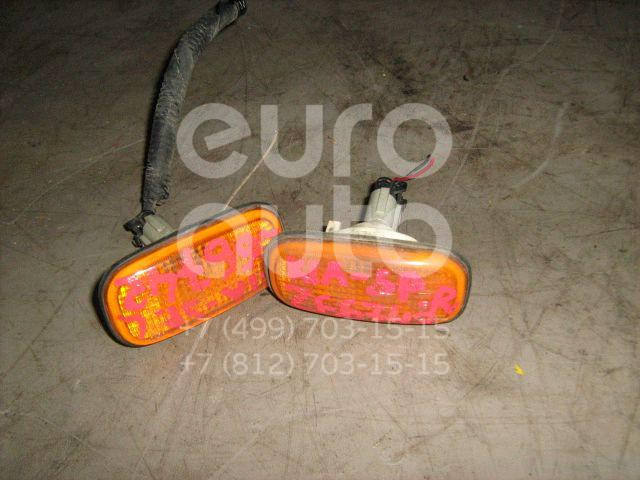 Повторитель на крыло желтый для Kia Sportage 1994-2004 - Фото №1