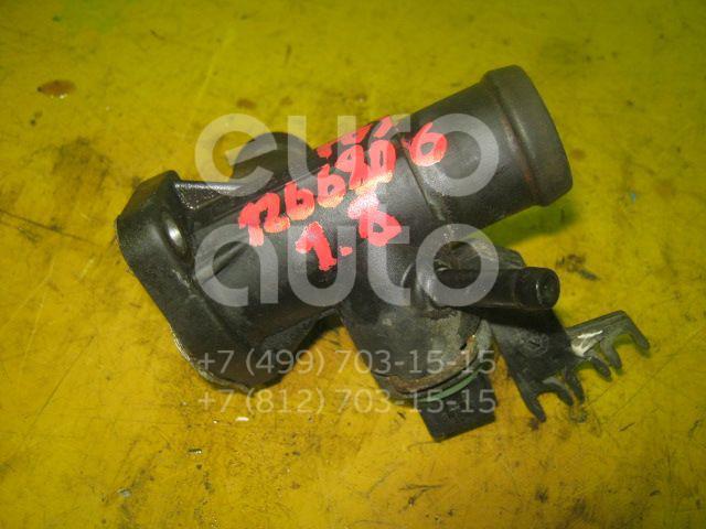 Фланец двигателя системы охлаждения для VW Passat [B3] 1988-1993;Golf II/Jetta II 1983-1992;Golf III/Vento 1991-1997;Passat [B4] 1994-1996 - Фото №1