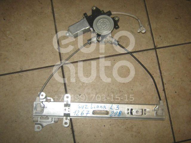 Стеклоподъемник электр. задний левый для Suzuki Liana 2001-2007 - Фото №1