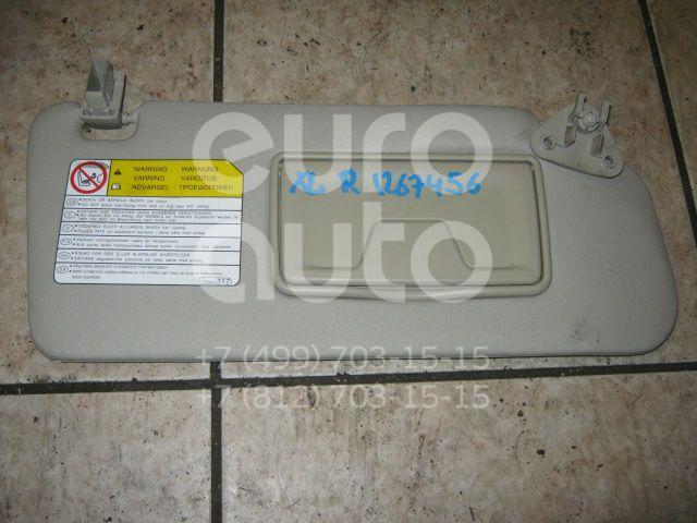 Козырек солнцезащитный (внутри) для Mitsubishi Outlander XL (CW) 2006-2012 - Фото №1