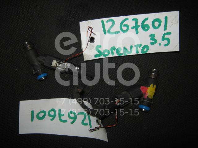 Форсунка инжекторная электрическая для Kia Sorento 2002-2009 - Фото №1