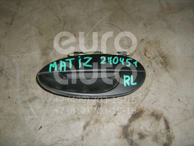 Ручка двери задней наружная левая для Daewoo Matiz 1998> - Фото №1