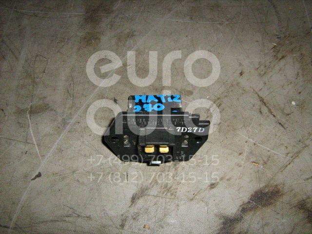 Резистор отопителя для Daewoo Matiz 1998> - Фото №1