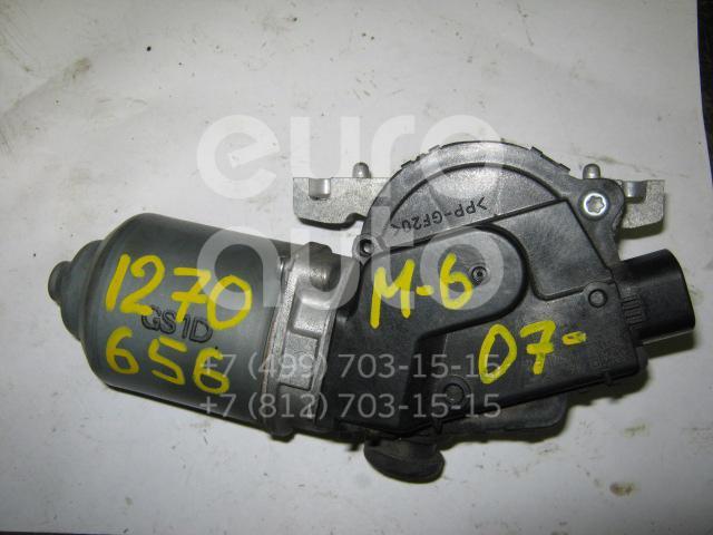 Моторчик стеклоочистителя передний для Mazda Mazda 6 (GH) 2007-2012 - Фото №1