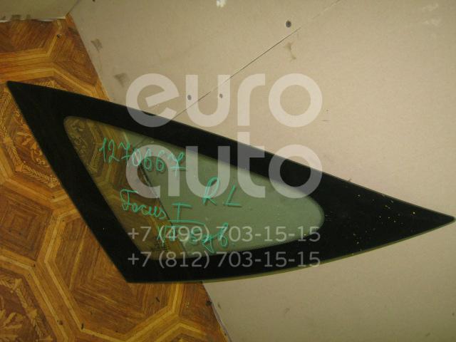 Стекло кузовное глухое левое для Ford Focus I 1998-2005 - Фото №1