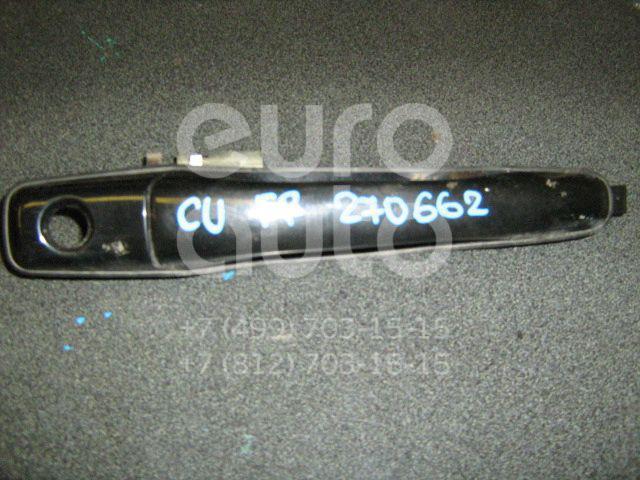 Ручка двери передней наружная правая для Mitsubishi Outlander (CU) 2003-2009;Grandis (NA#) 2004-2010;Lancer (CS/Classic) 2003-2007;Lancer Cedia (CS) 2000-2003 - Фото №1