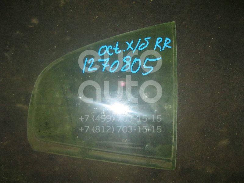 Стекло двери задней правой (форточка) для Skoda Octavia 1997-2000;Octavia (A4 1U-) 2000-2011 - Фото №1