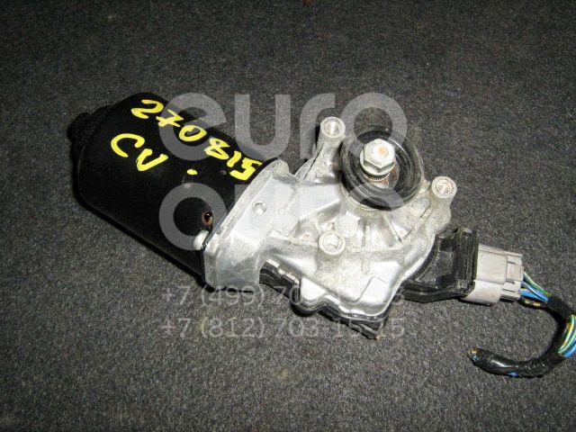 Моторчик стеклоочистителя передний для Mitsubishi Outlander (CU) 2003-2009 - Фото №1