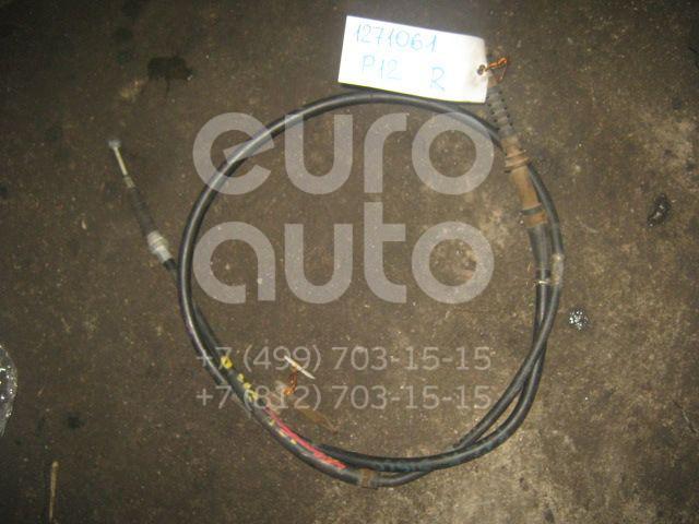 Трос стояночного тормоза правый для Nissan Primera P12E 2002-2007 - Фото №1