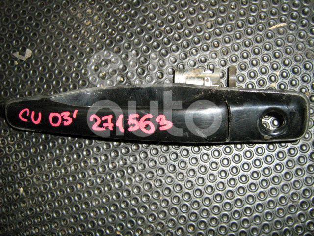 Ручка двери передней наружная левая для Mitsubishi Outlander (CU) 2003-2009;Lancer (CS/Classic) 2003-2006;Lancer Cedia 2000-2003 - Фото №1