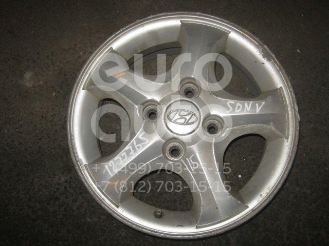Диск колесный легкосплавный для Hyundai Sonata IV (EF)/ Sonata Tagaz 2001-2012;Sonata III 1996-1998 - Фото №1