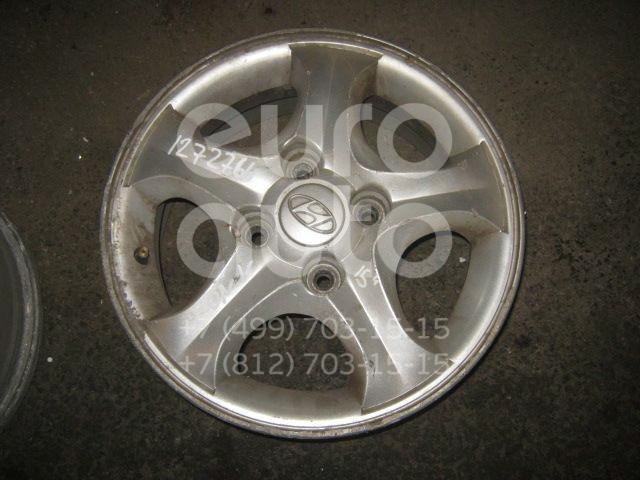Диск колесный легкосплавный для Hyundai Sonata V (NEW EF) 2001-2012;Sonata III 1996-1998 - Фото №1