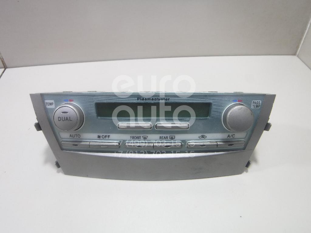 Блок управления климатической установкой Toyota Camry V40 2006-2011; (5590033B31)