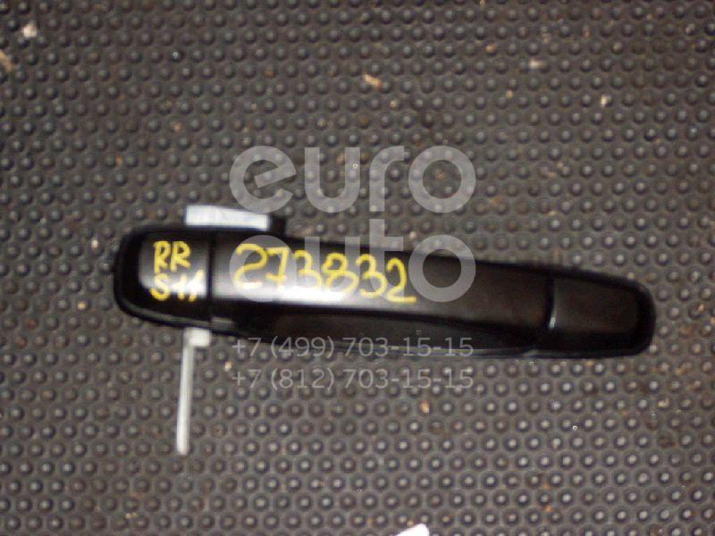 Ручка двери задней наружная правая для Subaru Forester (S11) 2002-2007 - Фото №1