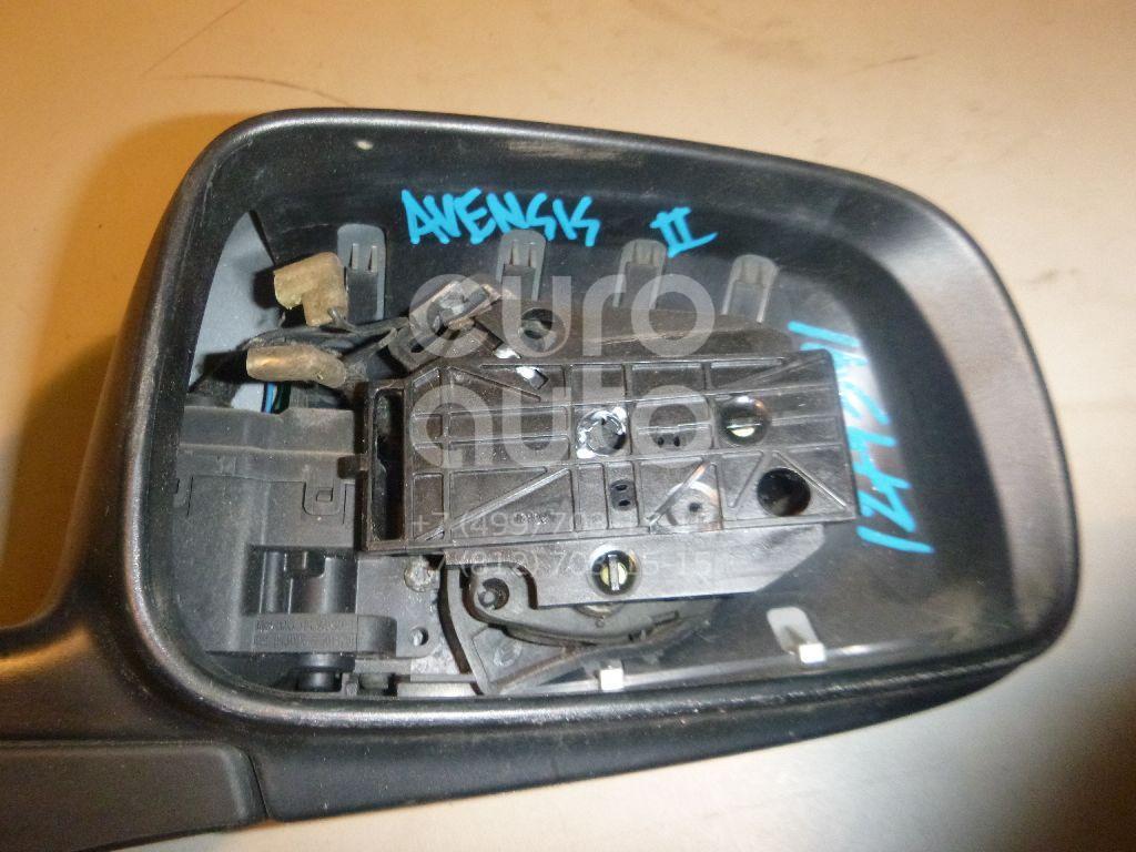 Корпус зеркала правого для Toyota Avensis II 2003-2008 - Фото №1