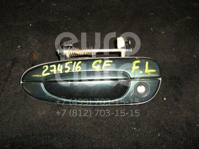 Ручка двери передней наружная левая для Mazda 626 (GF) 1997-2002 - Фото №1