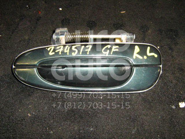 Ручка двери задней наружная левая для Mazda 626 (GF) 1997-2002;626 (GE) 1992-1997 - Фото №1