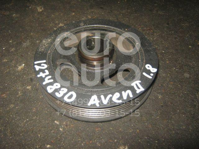 Шкив коленвала для Toyota Avensis II 2003-2008;Corolla E12 2001-2006;Auris (E15) 2006-2012;Corolla E15 2006-2013;CorollaVerso 2004-2009 - Фото №1