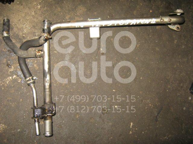 Трубка охлажд. жидкости металлическая для Toyota Avensis II 2003-2008;Avensis I 1997-2003;RAV 4 2000-2005;Corolla E12 2001-2006;Auris (E15) 2006-2012;Corolla E15 2006-2013 - Фото №1