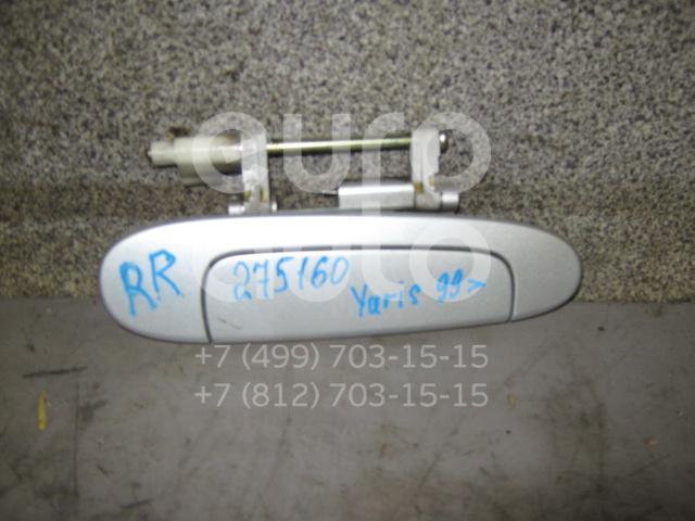 Ручка двери задней наружная правая для Toyota Yaris 1999-2005;Echo 1999-2005 - Фото №1