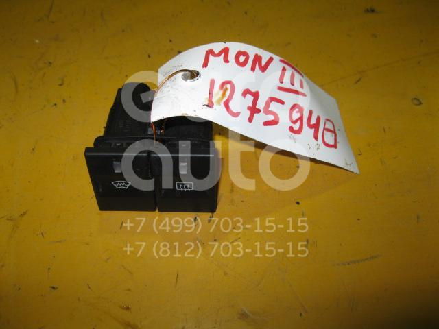 Кнопка обогрева переднего и заднего стекла для Ford Mondeo III 2000-2007 - Фото №1