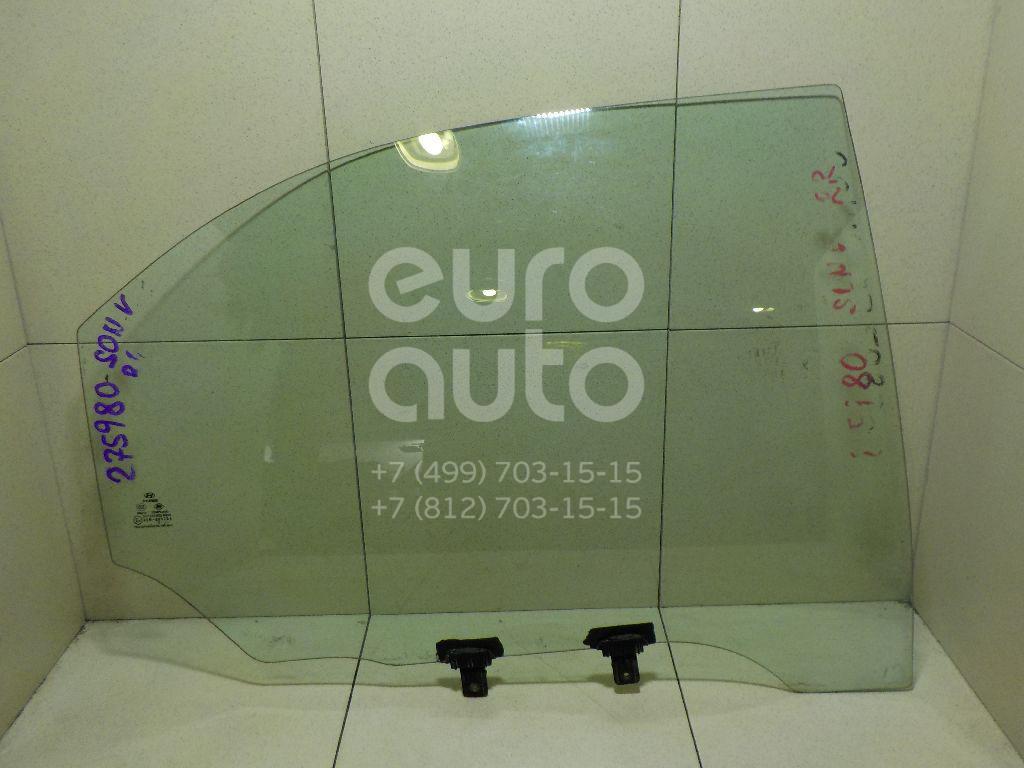 Стекло двери задней правой для Hyundai Sonata IV (EF)/ Sonata Tagaz 2001-2012;Sonata IV (EF) 1998-2001 - Фото №1