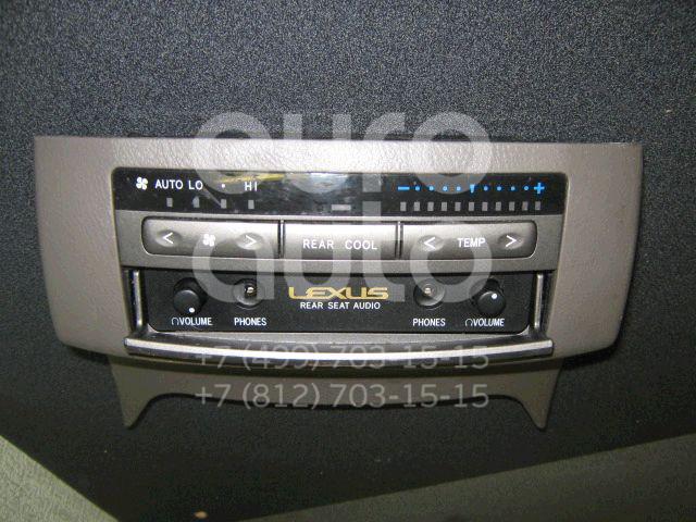 Блок управления отопителем для Lexus GX470 2002-2009 - Фото №1