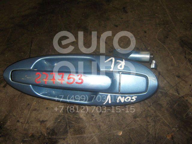 Ручка двери задней наружная левая для Hyundai Sonata IV (EF)/ Sonata Tagaz 2001-2012 - Фото №1