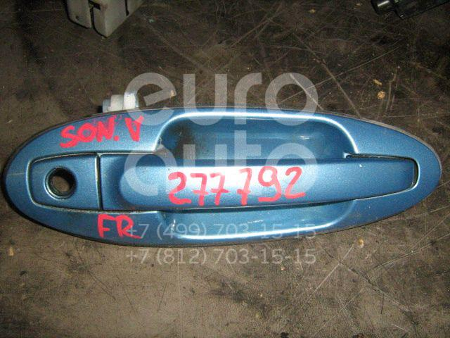 Ручка двери передней наружная правая для Hyundai Sonata IV (EF)/ Sonata Tagaz 2001-2012 - Фото №1
