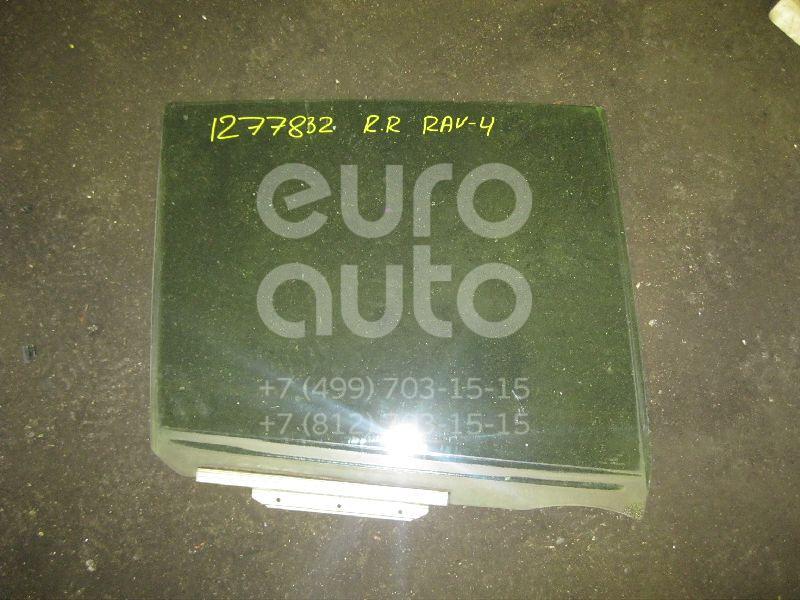 Стекло двери задней правой для Toyota RAV 4 2000-2005 - Фото №1