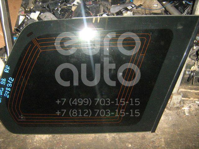 Стекло кузовное глухое правое для Mitsubishi Space Wagon (N8,N9) 1998-2004 - Фото №1