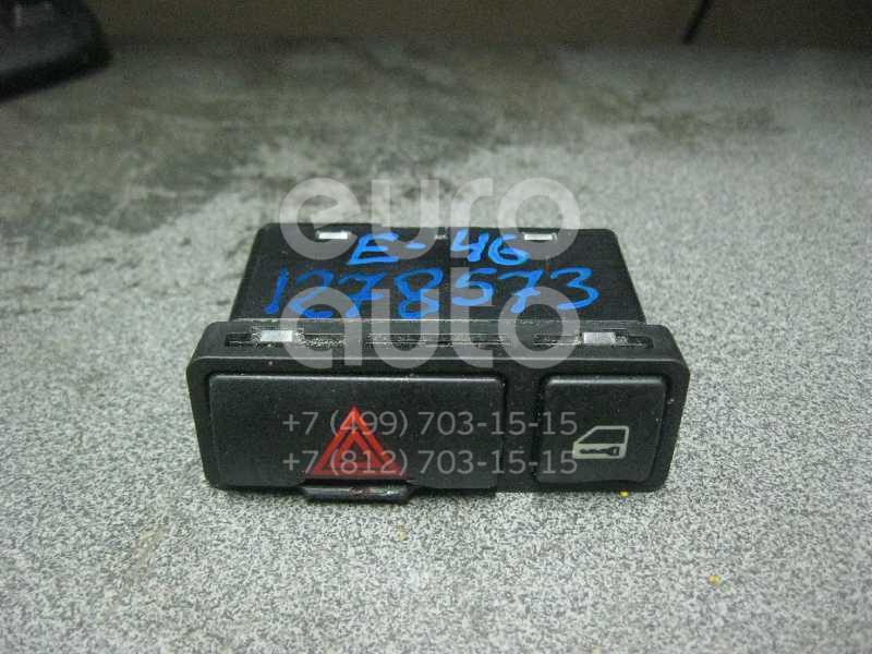 Кнопка аварийной сигнализации для BMW 3-серия E46 1998-2005;X5 E53 2000-2007;X5 M F85 2013> - Фото №1