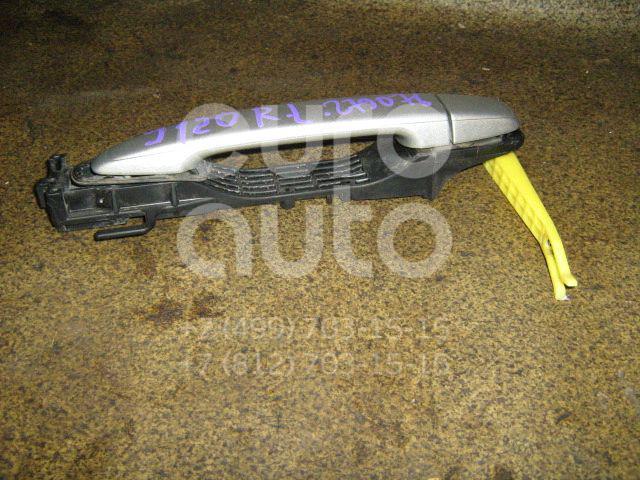 Ручка двери задней наружная левая для Toyota Land Cruiser (120)-Prado 2002-2009 - Фото №1