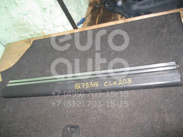Накладка порога (внутренняя) для Mercedes Benz C208 CLK coupe 1997-2002 - Фото №1