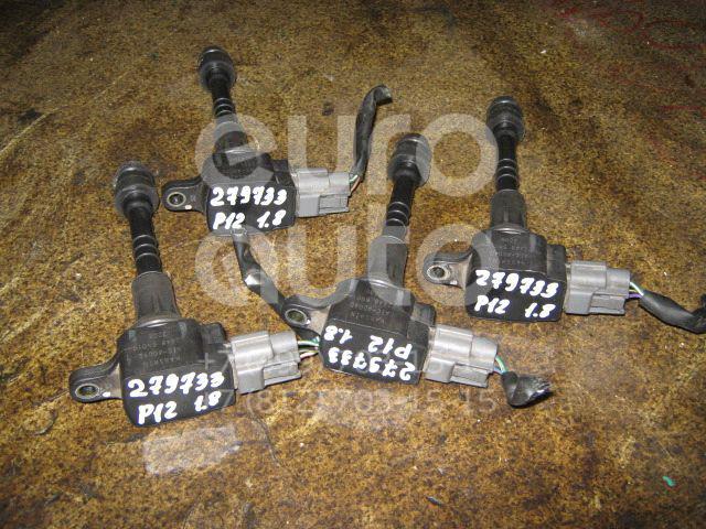 Катушка зажигания для Nissan Primera P12E 2002>;Primera P11E 1996-2002;Almera Tino 2000>;Almera Classic (B10) 2006>;Almera N16 2000-2006 - Фото №1