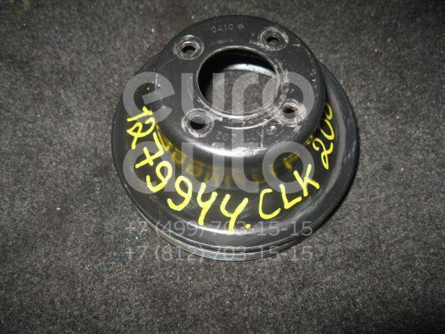Шкив водяного насоса (помпы) для Mercedes Benz C208 CLK coupe 1997-2002;W163 M-Klasse (ML) 1998-2004;W202 1993-2000;R170 SLK 1996-2004 - Фото №1