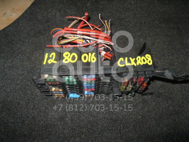 Блок предохранителей для Mercedes Benz C208 CLK coupe 1997-2002;W202 1993-2000 - Фото №1