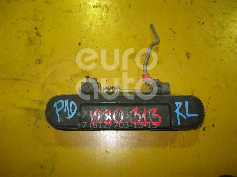 Ручка двери задней наружная левая для Nissan Primera P10E 1990-1996 - Фото №1