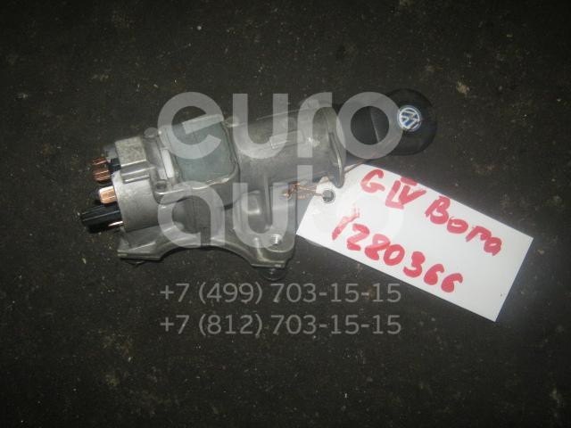 Замок зажигания для VW,Audi,Skoda,Seat Golf IV/Bora 1997-2005;A3 (8L1) 1996-2003;A8 [4D] 1994-1998;TT(8N) 1998-2006;Octavia (A4 1U-) 2000-2011;Leon (1M1) 1999-2006;Toledo II 1999-2006;Octavia 1997-2000;Allroad quattro 2000-2005;A4 [B6] 2000-2004 - Фото №1