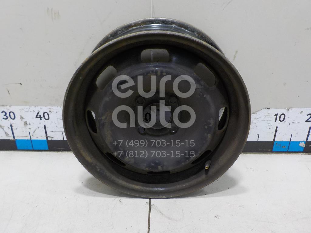 Диск колесный железо Peugeot 207 2006-2013; (5401P4)