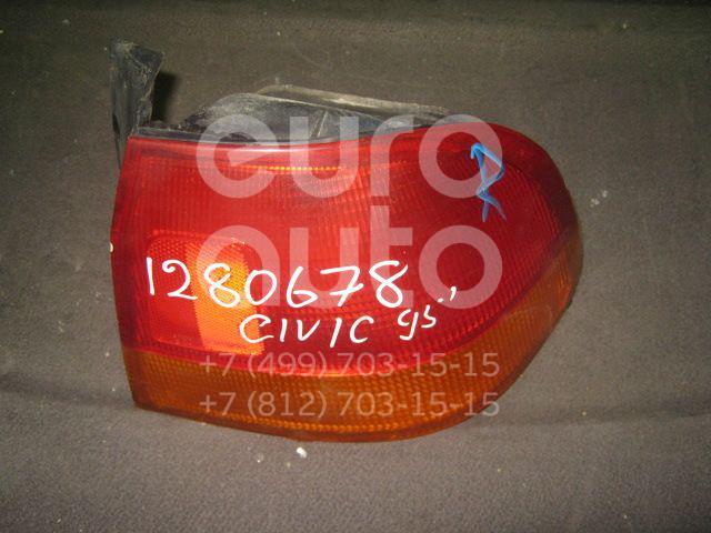 Фонарь задний наружный правый для Honda Civic (EJ, EK Sed+3HB) 1995-2001 - Фото №1