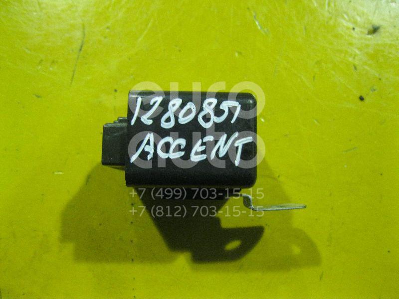 Реле стеклоочистителей для Hyundai Accent II (+ТАГАЗ) 2000-2012;H-100 1993-2004;Accent I 1994-2000;Lantra 1990-1995;Sonata II 1988-1993;Galloper II (JKC4) 1998-2003;Lantra 1995-2000 - Фото №1