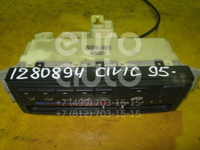 Блок управления отопителем для Honda Civic (EJ, EK Sed+3HB) 1995-2001 - Фото №1